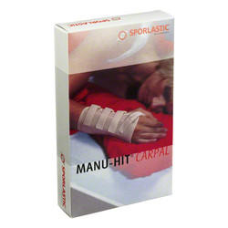 MANU-HIT CARPAL Orthese links Gr.S schwarz 07233