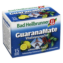BAD HEILBRUNNER Guarana Mate Tee Kräuterpower Fbtl