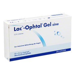 LAC OPHTAL Gel sine