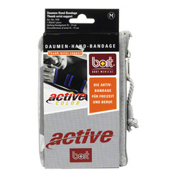 BORT ActiveColor Daumen Hand Band.medium schwarz