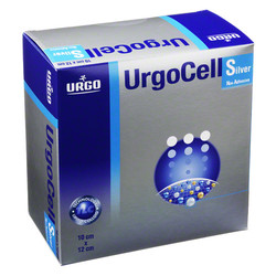 URGOCELL silver non Adhesive Verband 10x12 cm